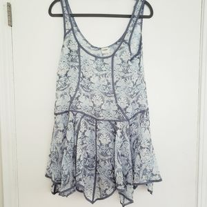 Free People trapeze slip dress sz.S